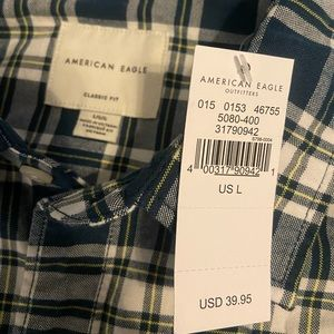 Long sleeve American Eagle flannel